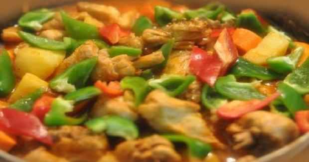 Chicken-Pork Afritada Recipe