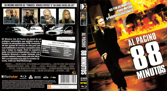 Capa Blu-ray 88 Minutos