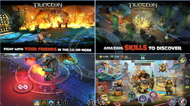 Dungeon Legends v1.784 + Mod apk Full For Android