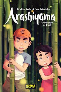 Arashiyama, la montaña de los deseos (Norma Editorial)