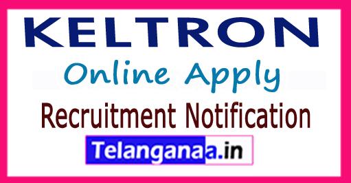 Kerala State Electronic Development Corporation Limited KELTRON Recruitment Notification 2017