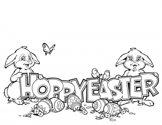 easter coloring pages to color | Easter Coloring Pages For Kids | Holiday Coloring Pages