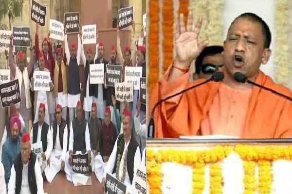 samajwadi-party-protest-against-up-law-and-order-yogi-sarkar