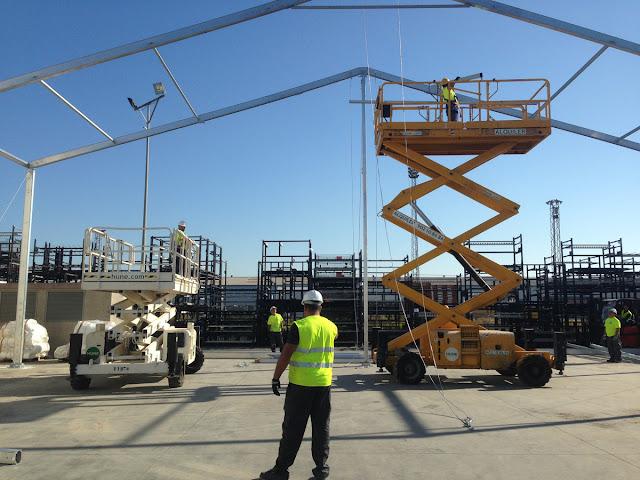 Montaje e Instalación de Carpas y Almacenes