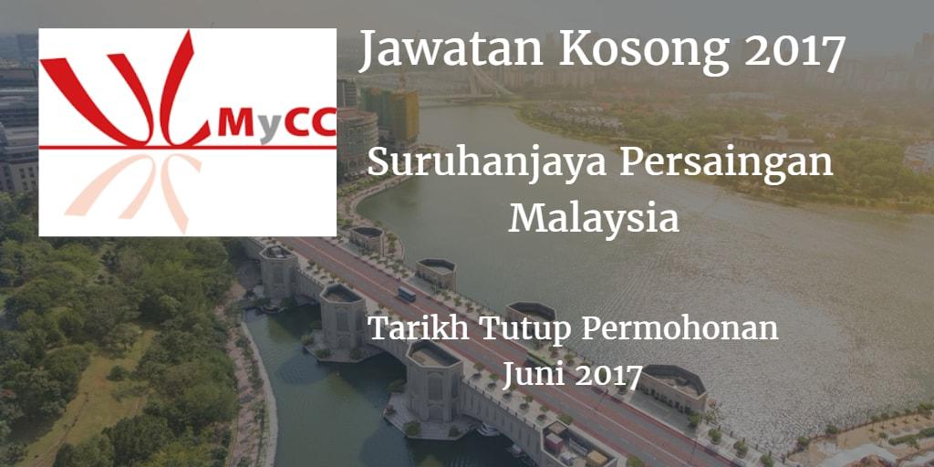 Jawatan Kosong MyCC 07 Julai 2017