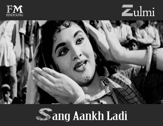 Zulmi-Sang-Aankh-Ladi-Madhumati-(1958)