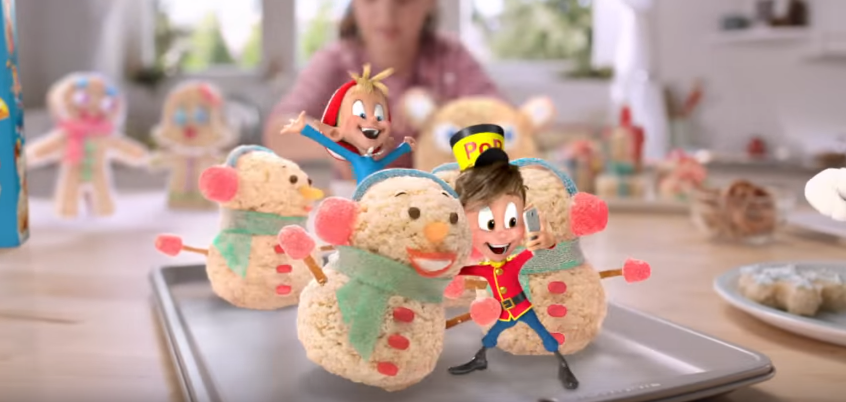 "Snap Crackle and Pop ""Pop To Life"" in New Ad for Kellogg""s Rice Krispies via Leo Burnett Chicago"