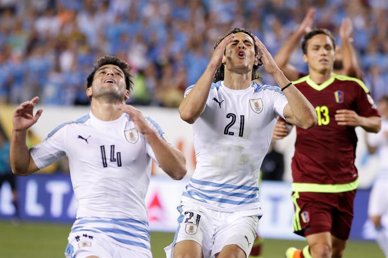 Uruguay queda fuera de la Copa América Centenario a costa de Venezuela