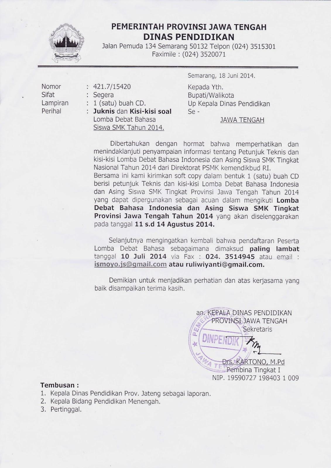 Info Sma Smk Kabupaten Boyolali Kisi Kisi Debat Bahasa Inggris