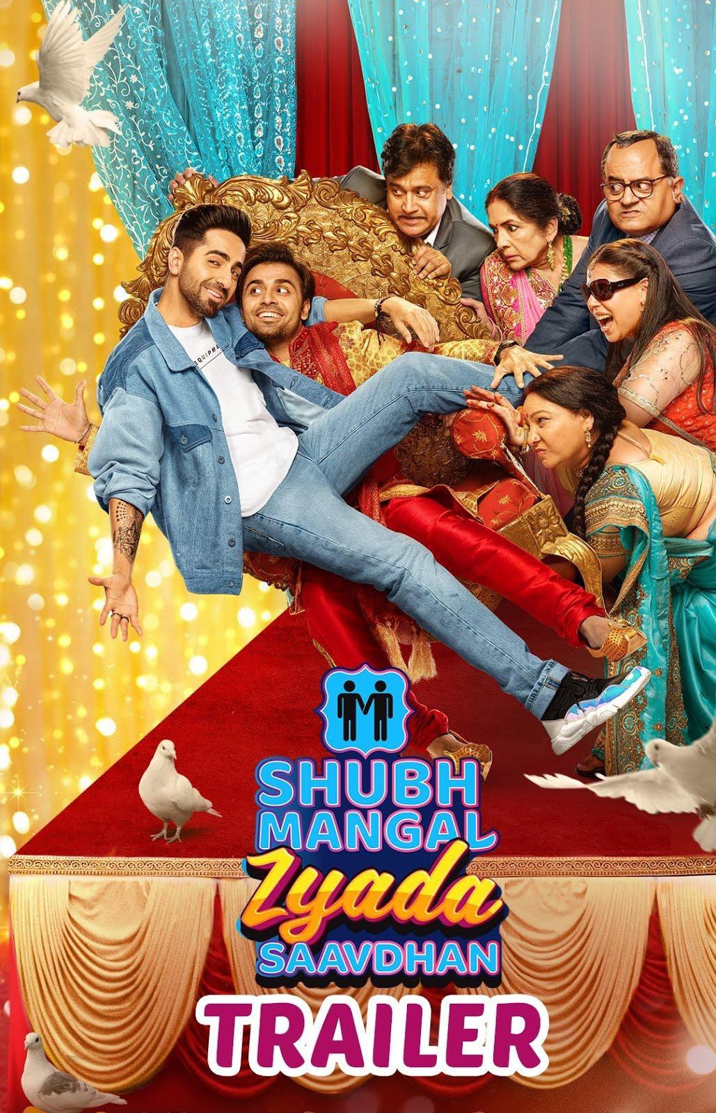 Shubh Mangal Zyada Saavdhan 2020 Hindi Movie Pre-DVDRip 700MB