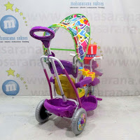 royal magician baby tricycle purple
