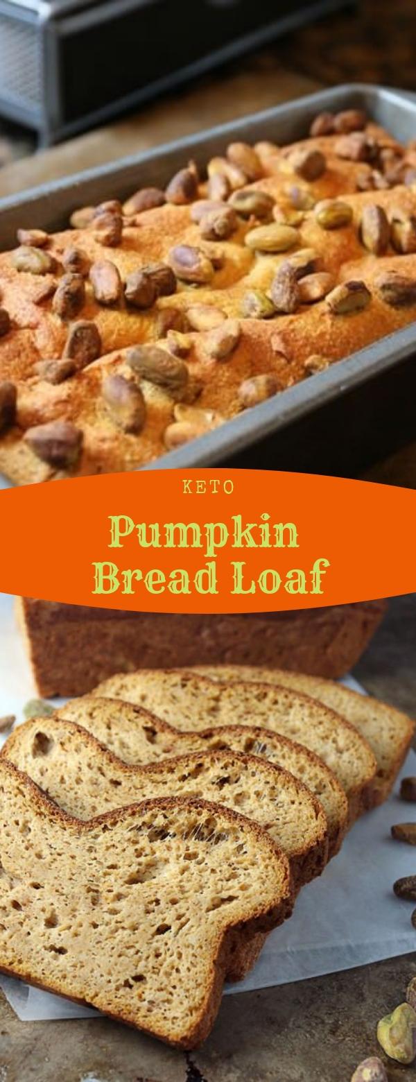 Pumpkin Bread Loaf #KETORECIPES