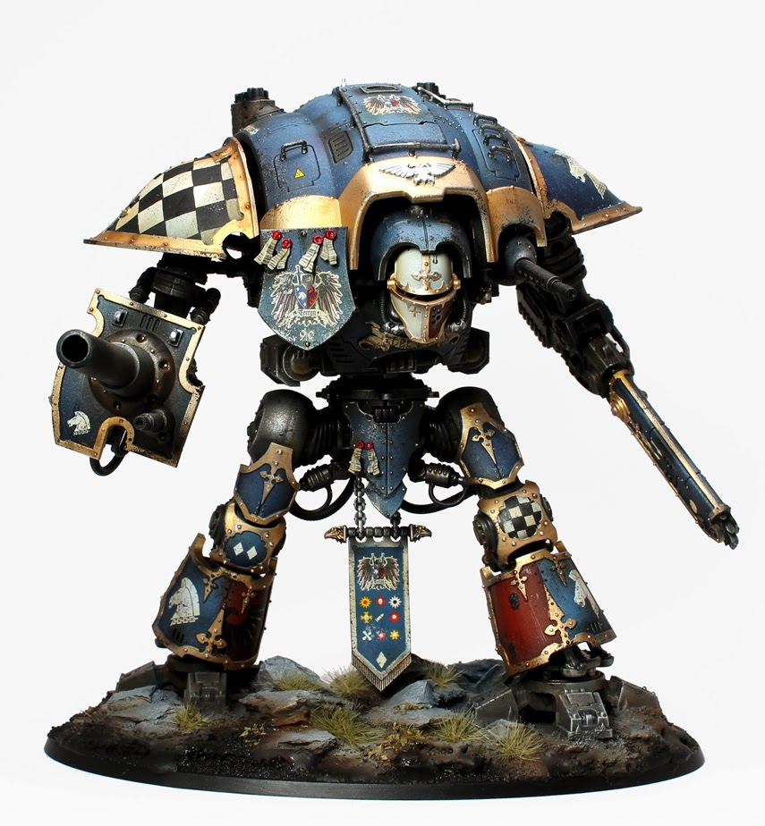 Grey Knights Gold Paint Job