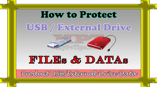 How to Protect USB / External Drive Files and Datas