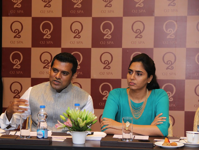 Mr. Ritesh Reddy Mastipuram, Founder and MD, O2 Spa and Swapna Reddy, Co-Founder and Director of O2 Spa discussing the company's expansio
