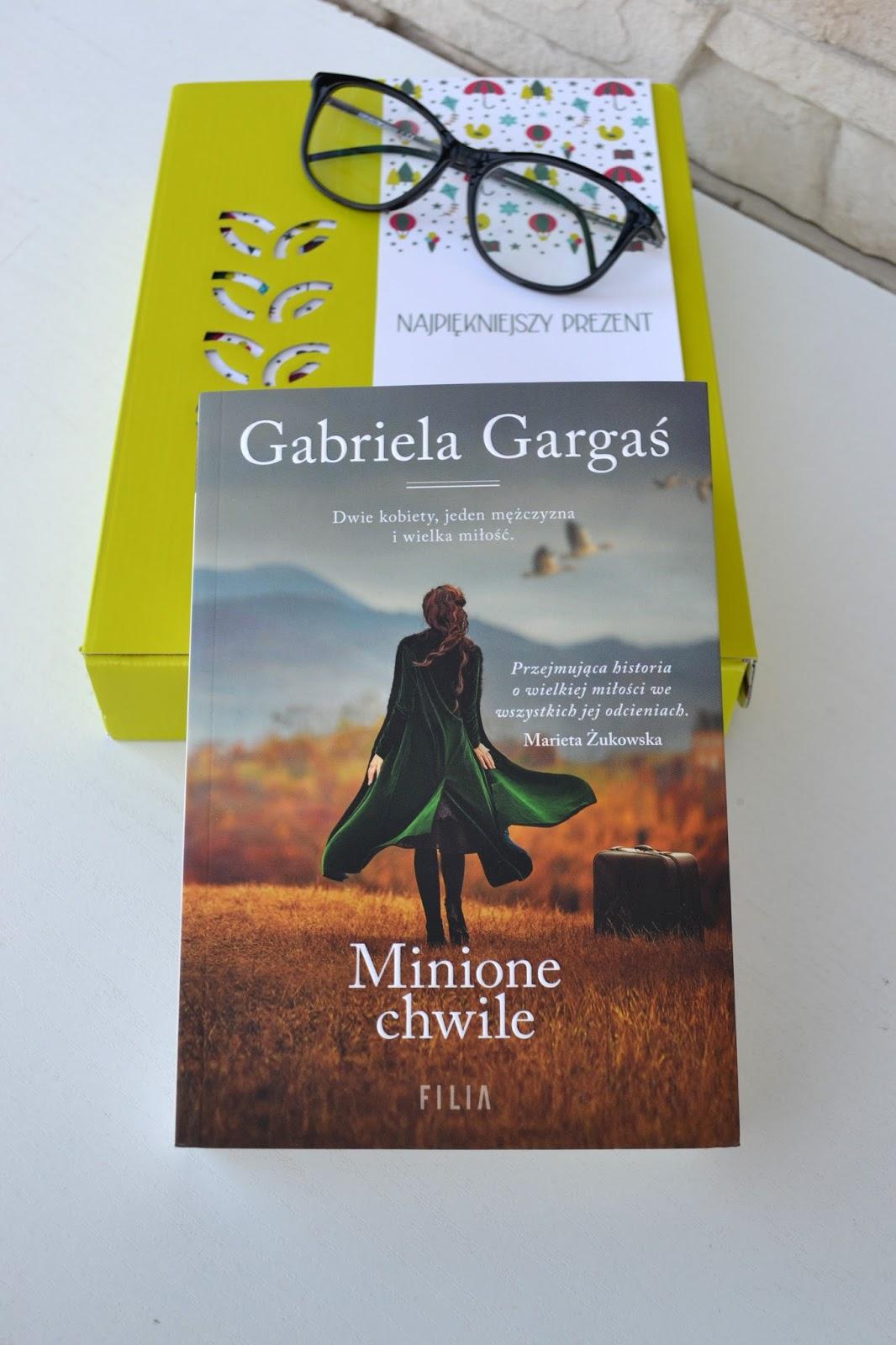 Książka jest dobra na wszystko -  Minione chwile G. Gargaś