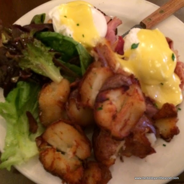eggs Benedict at Park Chow in San Francisco, California