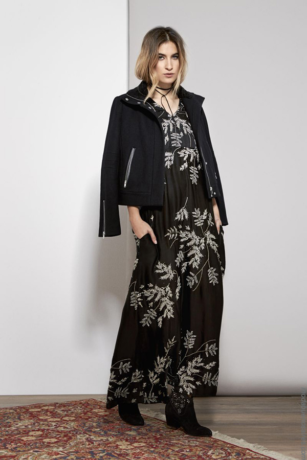 Moda invierno 2017 ropa de mujer vestidos largos. Moda 2017 mujer.