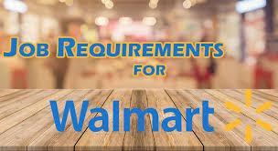 Requisiti di lavoro Walmart