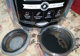 Pure Activated Charcoal Powder,  in sm container