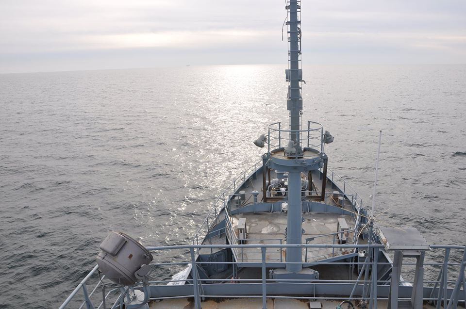 Майбутній розвідник ВМСУ вийшов у море