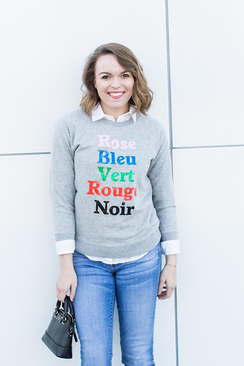 French Colors Sweatshirt