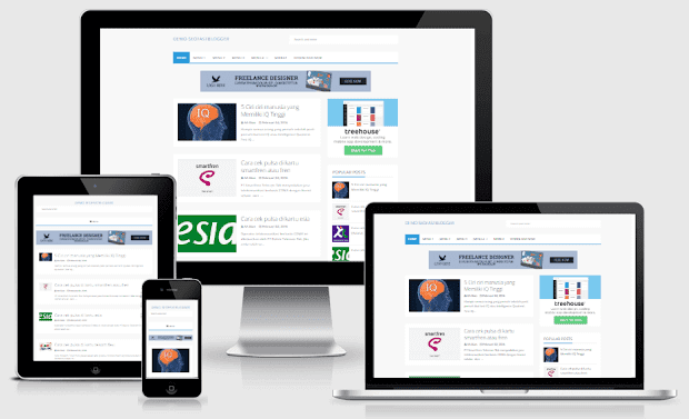 SeoFastBlogger - Template Blogger Yang  Responsive Dan Seo Friendly