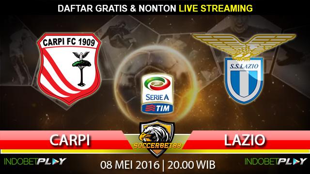 Prediksi Carpi vs Lazio 08 Mei 2016 (Liga Italia)