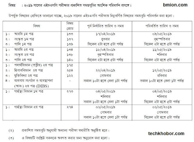 HSC-Exam-Routine-2019-Starts-1-April-DIBS-Dhaka-Comilla-Rajshahi-Jessore-Chittagong-Barishal-Sylhet-Dinajpur-Board-update