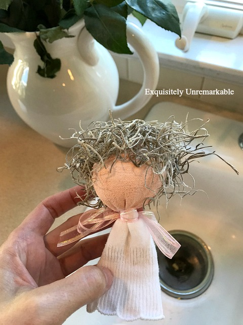How To Make A Sock Angel Doll