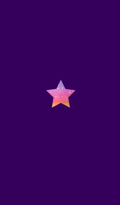 Sunset star button