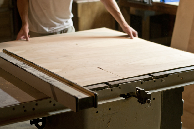 IKEA HACK: shelving unit to TV console