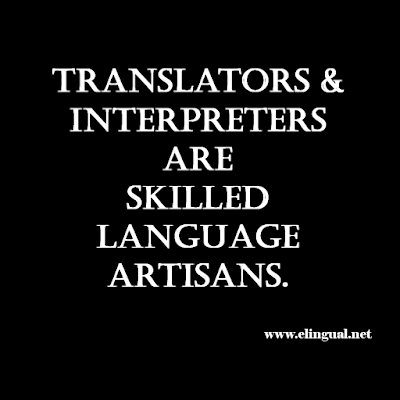 More than just freelancers...Translators and Interpreters are Professionals