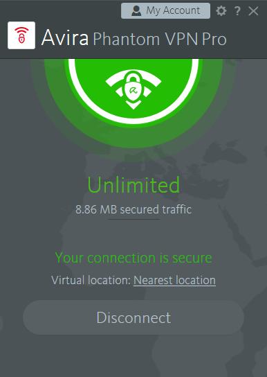 برنامج   Avira Phantom VPN  Pro 2.19.2.21196 لفتح جميع المواقع المحجوبة واخفاء هويتك على الانترنت