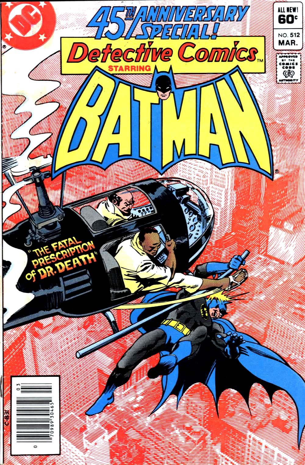 Detective Comics (1937) 512 Page 0
