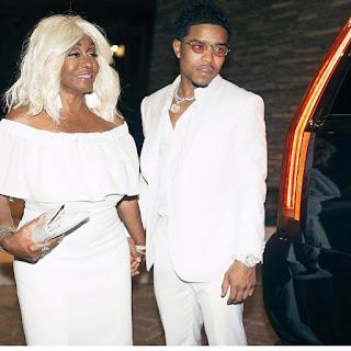 #JustinCombs and his grandma #MamaCombs