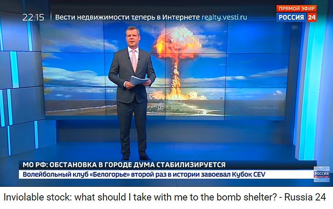 Η Ρωσία ενημερώνει τον λαό της: «Αυτά θα πάρετε μαζί σας στα καταφύγια» -Εντολή να ετοιμαστούν για υποδοχή στα Ουράλια Ορη – Δείτε το Βίντεο