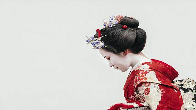 Geisha tercantik di Jepang