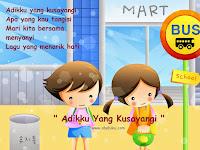 Adikku Yang Kusayangi - Indonesian Kids Song