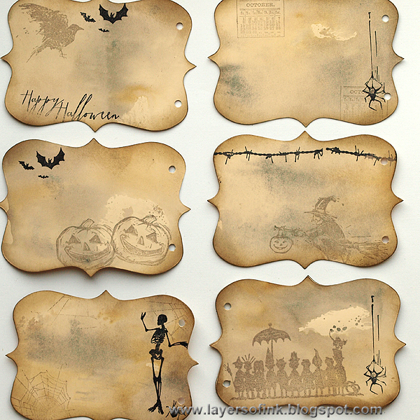 Layers Of Ink Spooky Stories Mini Book