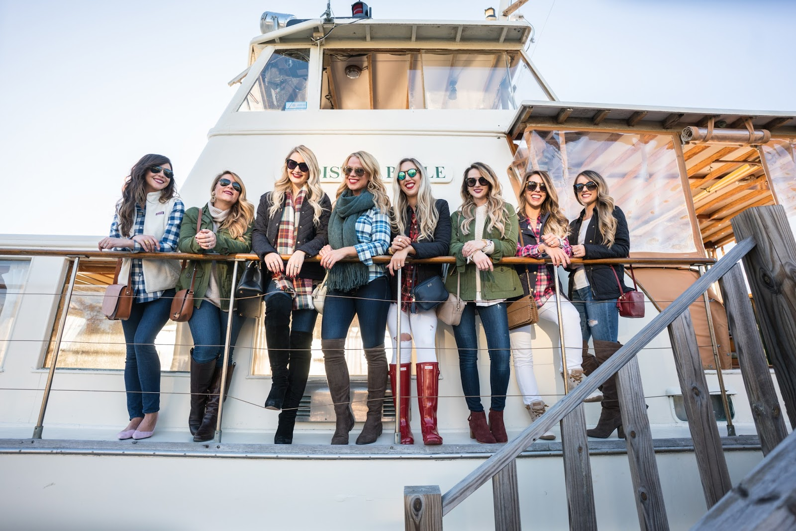 Sea Island boat cruise