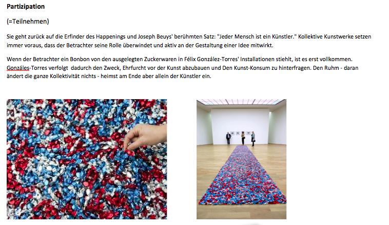 Kunst und umzu: Strategien moderner Kunst
