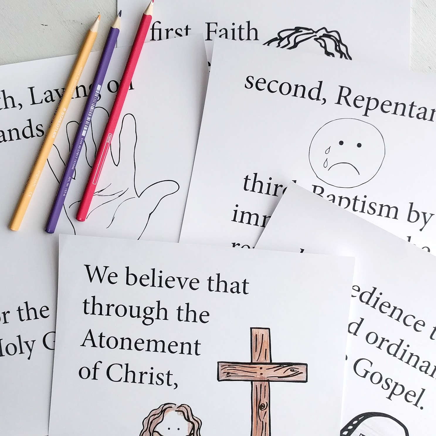 A Lively Hope: 13 More LDS Primary Song Flipcharts