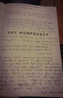 Finał Book Tour - K.N. Haner - Sny Morfeusza