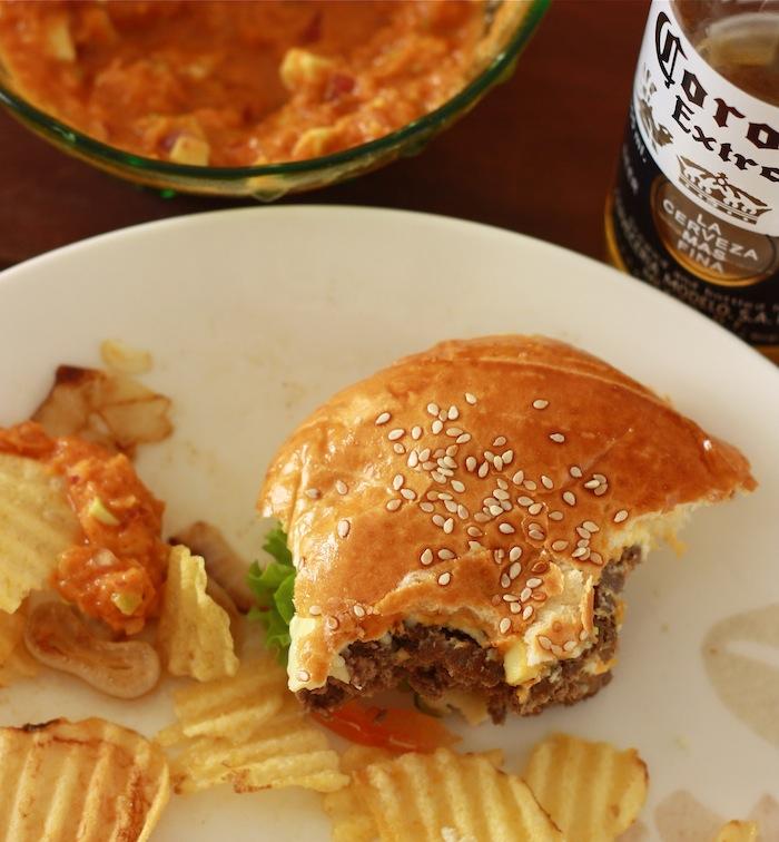 Jamaican Jerk Spice Burger by SeasonWithSpice.com