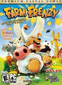 Enjoy the farmhouse antics with this complete set of Farm Frenzy titles Farm Frenzy 10 in 1 Bundle ISO-RAiN