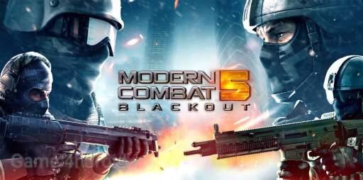 Modern Combat 5 Blackout MOD APK 4.2.1a Offline