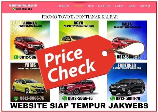 Jasa pembuatan website sales otomotif