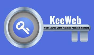 برنامج, حديث, ومتطور, لإدارة, وتخزين, وتوليد, كلمات, السر, (الباسورد), KeeWeb