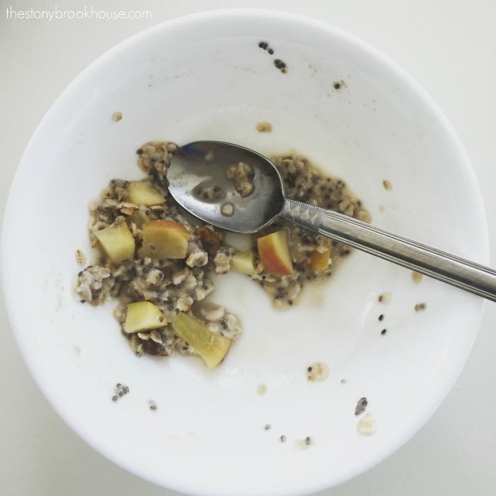 Chia Oatmeal Porridge